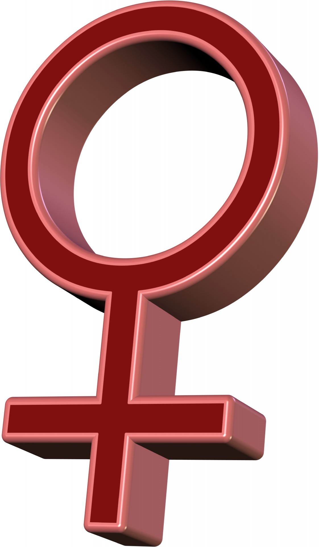 Female Symbol by Piotr. Used under Public Domain